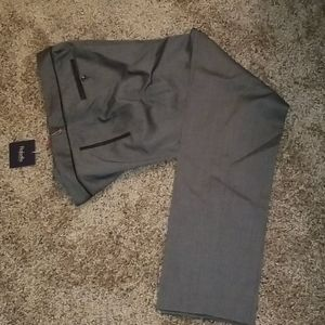 Stylish Black and Grey business pants.